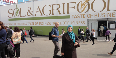 Promotion du guide de l'huile d'olive au Salon Sol&Agrifood