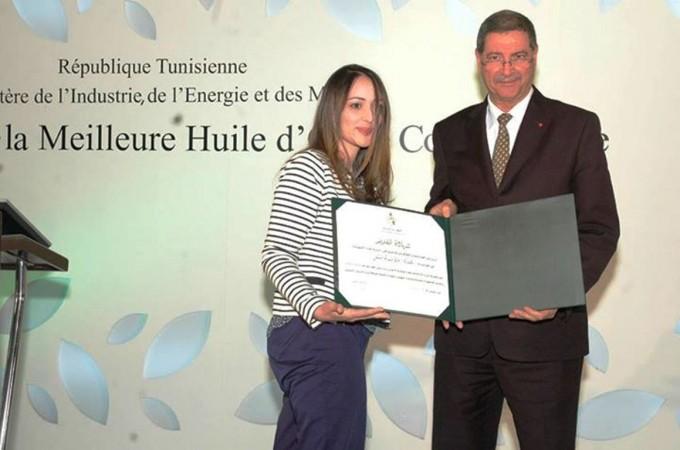 TUNISIE : Les lauréats de la meilleure huile d'olive conditionnée