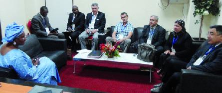 Réunion fructueuse entre les responsables de la CCIS et de FUTURALLIA en vue de concrétiser le projet « MEDALLIA » à Sfax